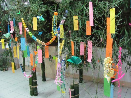 Tanabata Festival in Baguio  バギオが仙台?になった_a0109542_1413432.jpg