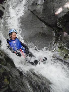 キャニオニング水上 西黒沢で夏バテを、、、_a0150951_19491927.jpg