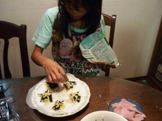 レンジでチン!で変わりチーズ煎餅づくり。_e0188087_21322151.jpg