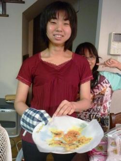 レンジでチン!で変わりチーズ煎餅づくり。_e0188087_21382298.jpg
