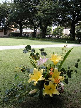 自由学園明日館公開講座「花:少し特別なフラワーアレンジ」_c0128489_2342168.jpg