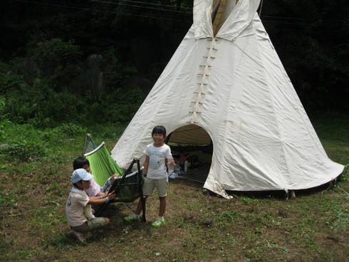「子供キャンプ」開始~~!!!!_a0125419_13453372.jpg