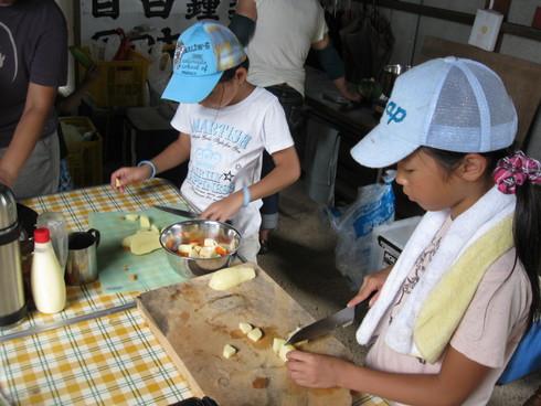 「子供キャンプ」開始~~!!!!_a0125419_1491076.jpg