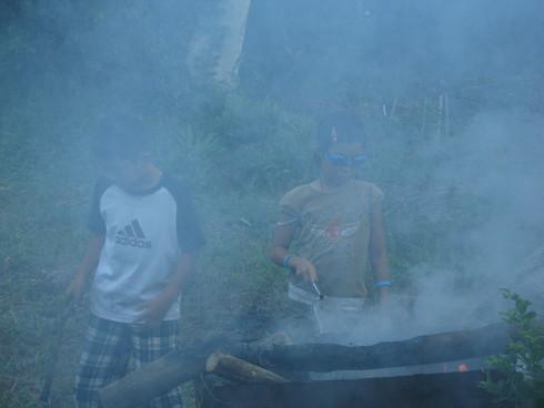 子供キャンプ「2日目」~~_a0125419_1523357.jpg