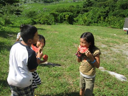 子供キャンプ「2日目」~~_a0125419_1565943.jpg
