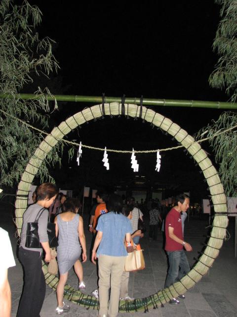 ぼんぼり祭り、茅の輪くぐり_b0158721_21593883.jpg