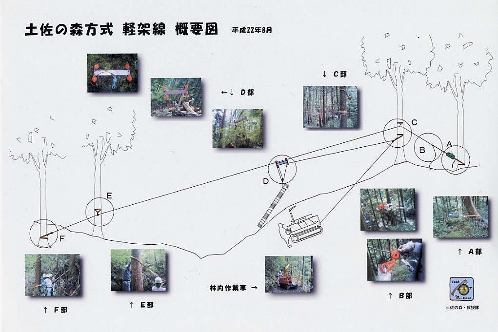 土佐の森方式軽架線による搬出活動_a0051128_4384469.jpg