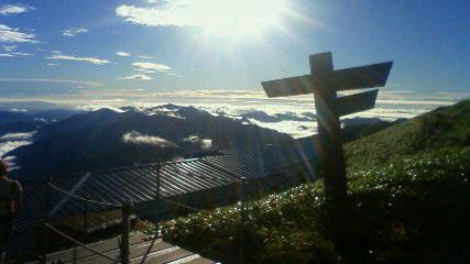 今日10日、午後6時すぎ    JRT「フォーカス徳島」で剣山の様子が放送されます。_c0089831_16454215.jpg