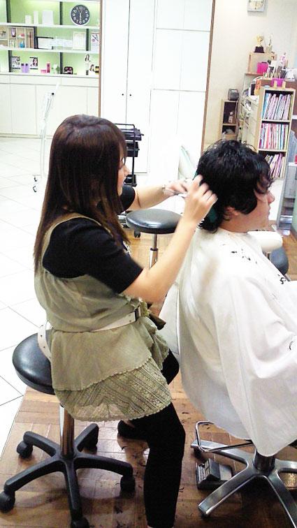 【立花店アシスタント植野】スタイリストになった前村さん☆_c0080367_17088.jpg
