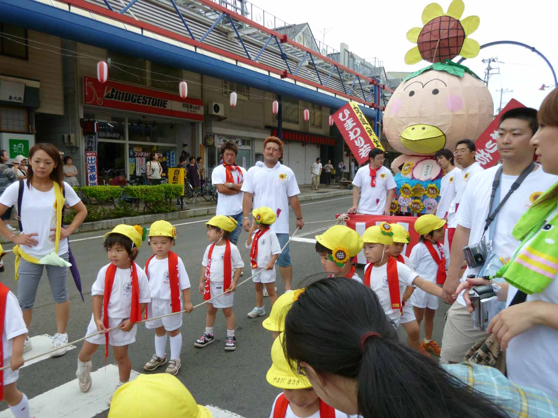 1日に行われた幼稚園の七夕_f0150893_19115224.jpg