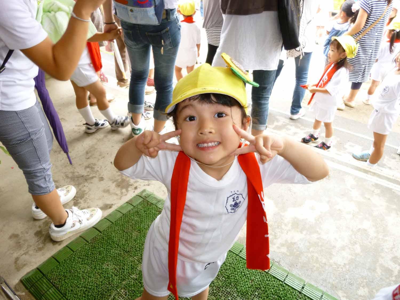 1日に行われた幼稚園の七夕_f0150893_19192492.jpg