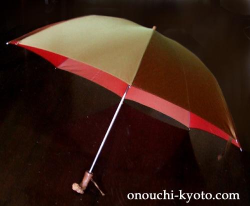 犬の手元がついた40年前の傘が・・・_f0184004_1036495.jpg