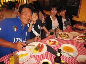イタリアン!みんな大好き、笑顔・笑顔!_d0091909_1331064.jpg