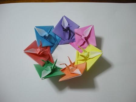 クリスマス 折り紙 7月の折り紙 : tojorigami.exblog.jp