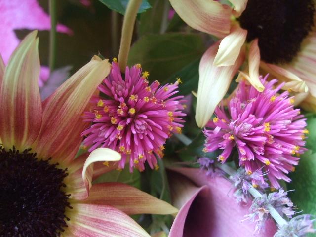オークリーフ(紫陽花とルビーイクリプスの花束)_f0049672_14253585.jpg