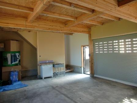 南魚沼市で車庫完成_a0128408_18165156.jpg