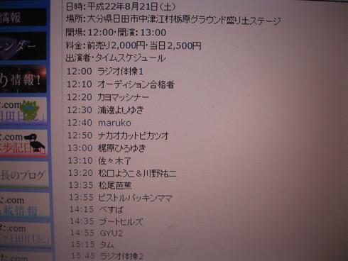 「中津江ミュージック フェスティバル2010」_a0125419_8431274.jpg