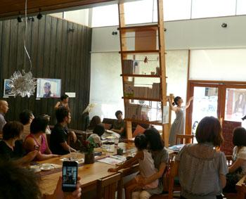 女性3人による現代アート〜ダンス×音楽×写真 レポート_a0017350_1352351.jpg