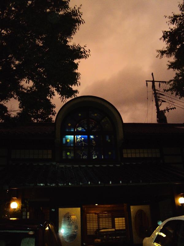 台風の後の夕焼け_c0140982_20243890.jpg