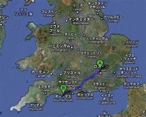 世界遺産のイギリス南西部海岸「Weymouth」_e0030586_156101.jpg