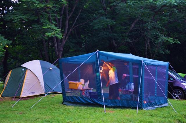 戸隠でキャンプ!初日_a0126590_1819289.jpg