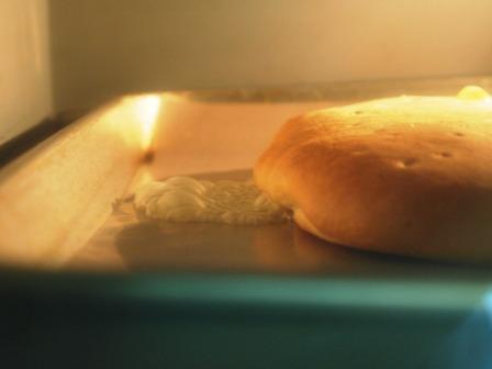 座布団みたいなパン(栗がご~ろごろ)_e0167593_013319.jpg