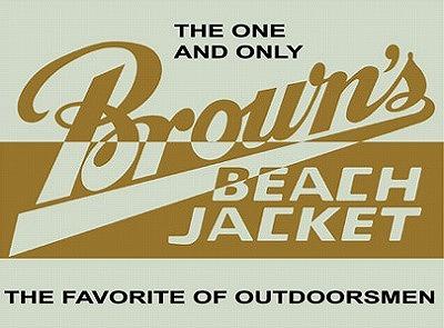 BROWN\'S BEACH JACKET入荷!_d0121303_13492144.jpg