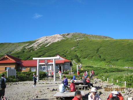 恒例の白山登山へ_e0121558_129960.jpg