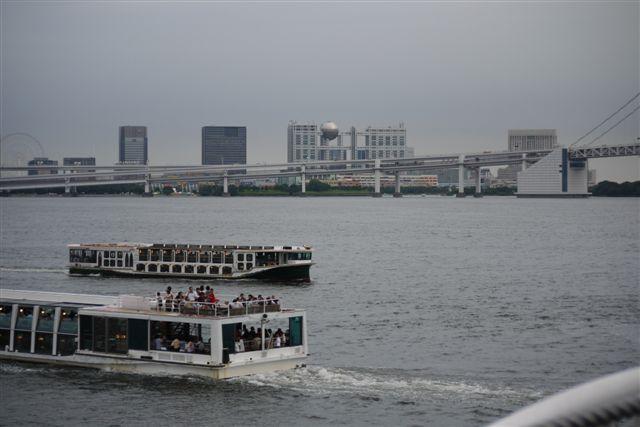 竹芝桟橋から見るレインボーブリッジ_b0175688_12101167.jpg