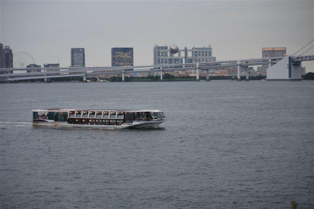 竹芝桟橋から見るレインボーブリッジ_b0175688_12193411.jpg