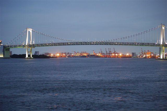 竹芝桟橋から見るレインボーブリッジ_b0175688_12232690.jpg