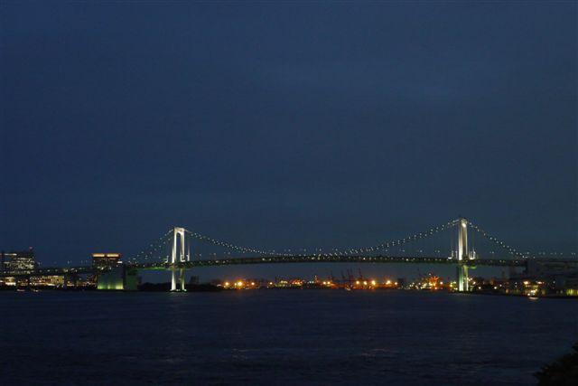 竹芝桟橋から見るレインボーブリッジ_b0175688_12235145.jpg