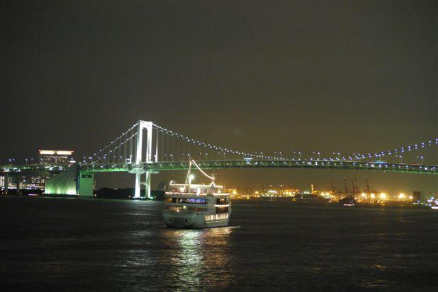 竹芝桟橋から見るレインボーブリッジ_b0175688_1223583.jpg