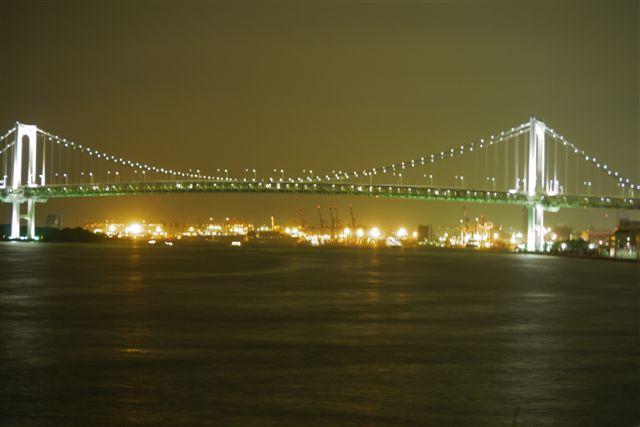 竹芝桟橋から見るレインボーブリッジ_b0175688_12241681.jpg