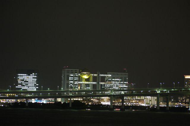 竹芝桟橋から見るレインボーブリッジ_b0175688_1224675.jpg