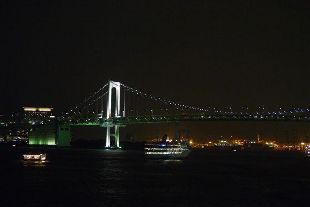 竹芝桟橋から見るレインボーブリッジ_b0175688_12324985.jpg