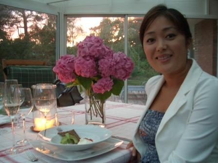 夕食のお誘い ジェシカの別荘にて_a0159707_2232756.jpg