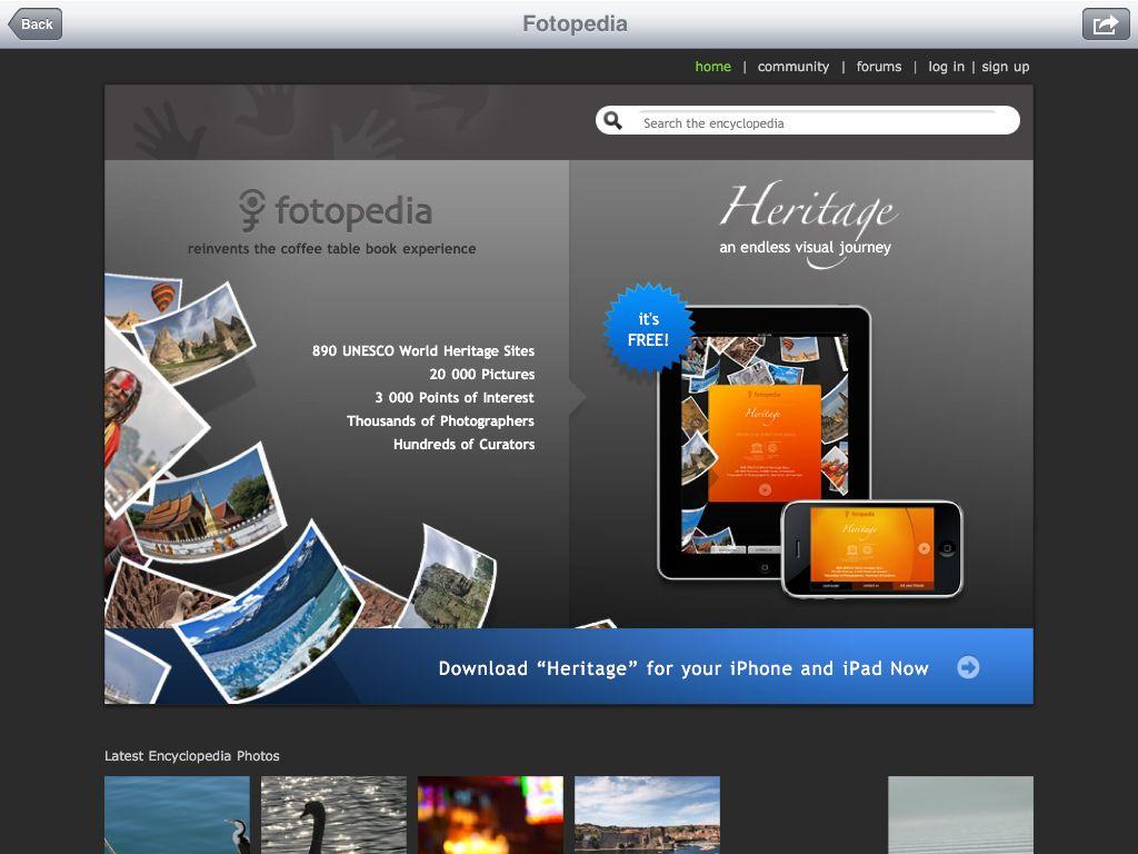 iPadの特徴を最大限に生かした無料の「世界遺産写真集」_c0025115_23143084.jpg