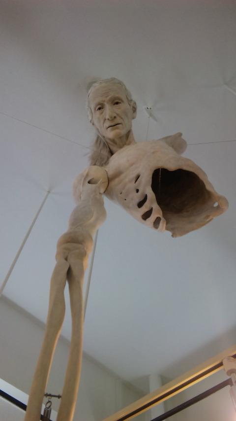 8/13 吉本大輔 「IDIOT ・・ 解剖学士 ガラ夫人の裏庭」・朱_b0019333_113971.jpg