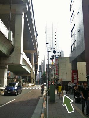 三軒茶屋駅からjam caféへの道のりです!_d0179338_20433971.jpg