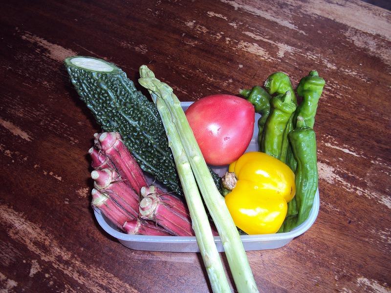 愛しの夏野菜たち_c0140982_1554175.jpg