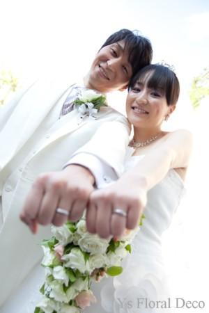 キャスケードブーケ アルカンシエル横浜のおふたり_b0113510_121462.jpg