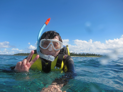 8月15日透明度40mの海♪_c0070933_18398.jpg