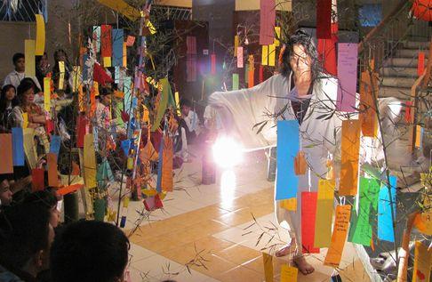 バギオ七夕祭り - 「七夕伝説」の踊りと音楽 高校生に_a0109542_2155982.jpg