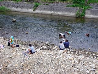 川遊び_d0122374_22512967.jpg