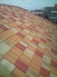 混ぜ葺き屋根完成!!_c0223192_20215469.jpg