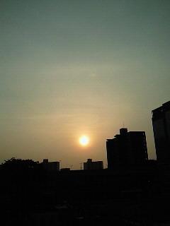 今朝の空~。_d0091994_22334462.jpg
