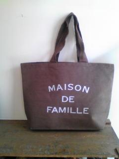 MAISON DE FAMILLEのバッグ_e0190453_11301573.jpg