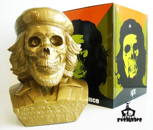 Dead Che Gold Bust by Kozik_e0118156_2124470.jpg