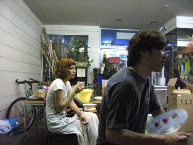 """2010 真夏 「Wrap」 """"マジすか屋台"""" まんつやってみるべし!  第一弾 5日(木) 編_c0177259_3245916.jpg"""